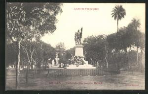 AK Guinée, Statue de Gouverneur Ballay