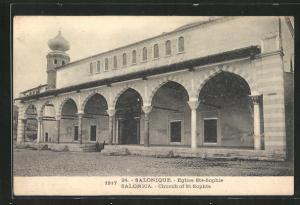 AK Salonique, Eglise Ste-Sophie