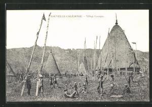 AK Nouvelle-Calédonie, Village Canaque