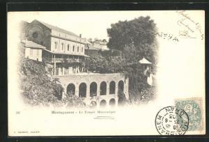AK Mostaganem, Le Temple Maconnique