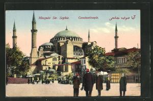AK Constantinople, Ste. Sophie, Moschee
