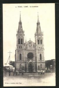 AK Lomé, La Cathédrale