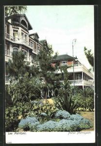 AK Las Palmas, Ansicht vom Hotel Metropole