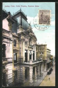 AK Buenos Aires, Jockey Club, Calle Florida