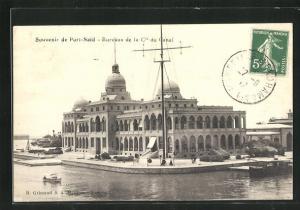 AK Port-Said, Bureaux de la Cie du Canal