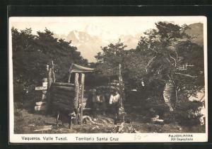 AK Vaqueros, Valle Tunel, Territorio Santa Cruz