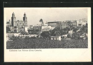 AK Las Palmas, Gran Canaria, Cathedral