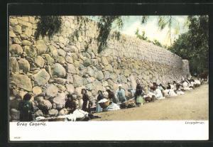AK Gran Canaria, Lavanderas, Waschfrauen