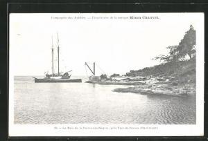 AK Fort-de-France, La Baie de la Pointe-des-Negres
