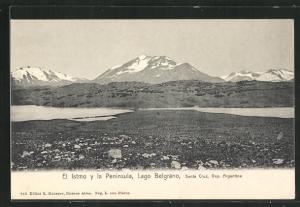 AK Lago Belgrano, El Istmo y la Peninsula
