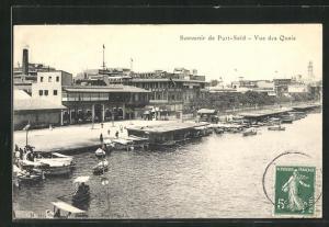 AK Port Said, Vue des Quais
