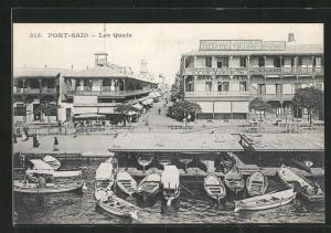 AK Port Said, Les Quais