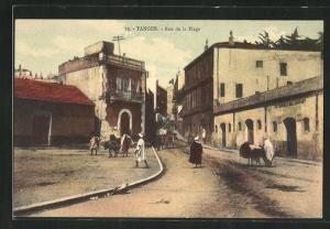 AK Tanger, Rue de la Plage