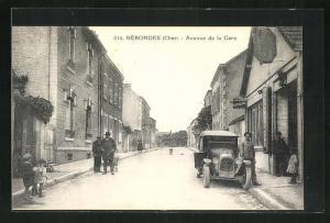 AK Nérondes, Avenue de la Gare