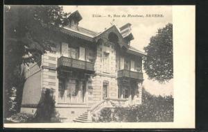 AK Nevers, Villa, Rue de Mouesse