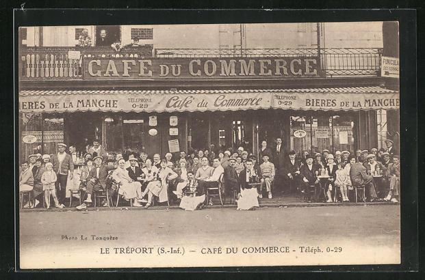 AK Le Tréport, Café du Commerce 0