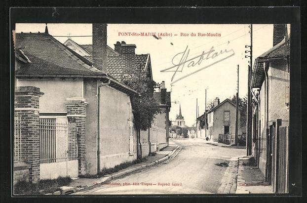 AK Pont-Ste-Marie, Rue du Bas-Moulin 0