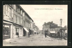 AK Fleurance, Rue Gambetta