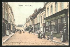 AK Cloyes, Grande Rue