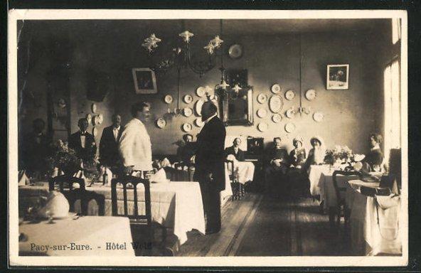 AK Pacy-sur-Eure, Hotel Wolff 0