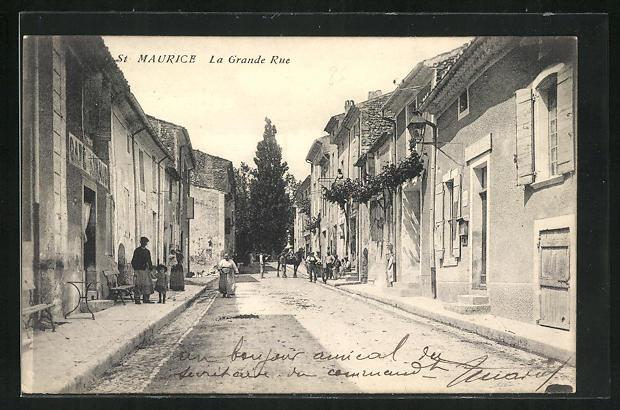 AK St. Maurice, La Grande Rue 0