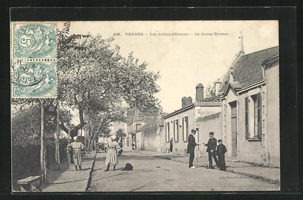 AK Les Sables-d`Olonne, Le Cours Blossac 0