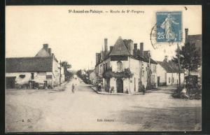 AK St-Amand-en-Puisaye, Route de St-Fargeau