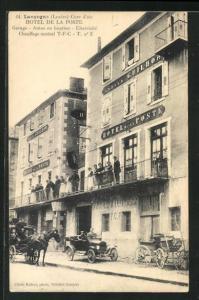 AK Langogne, Hotel de la Poste