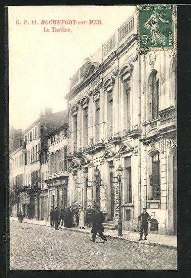 AK Rochefort-sur-Mer, Le Theatre 0