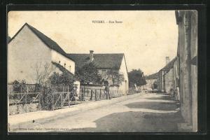 AK Viviers, Rue Basse, Strassenpartie