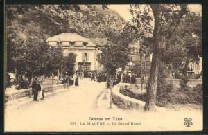 AK La Malene, Le Grand Hotel