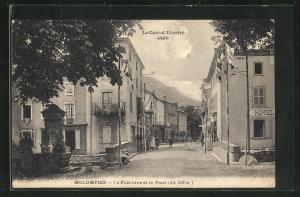 AK Molompize, La Fontaine et le Pont