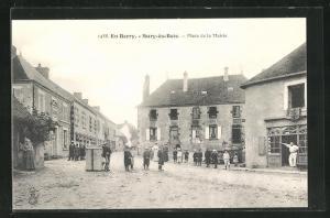AK Sury-es-Bois, Place de la Mairie