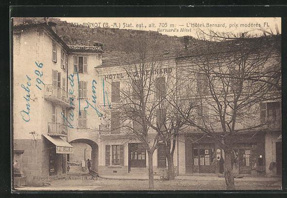 AK Annot, L`Hotel Bernard 0