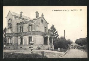 AK Ezanville, La Mairie