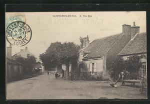 AK Saint-Denis-en-Val, Une Rue, Strassenpartie