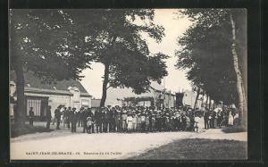 AK Saint-Jean-de-Braye, Reunion du 14 Juillet