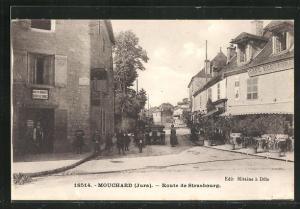 AK Mouchard, Route de Strasbourg