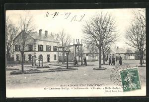 AK Nogent-le-Rotrou, Caserne Sully, Infirmerie, Poste, Refectoire
