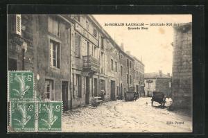 AK St-Romain-Lachalm, Grande Rue
