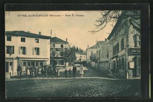 AK St-Pal-de-Chalencon, Route de Tiranges
