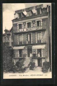 AK Lourdes, Hotel-Pension Villa Montfort
