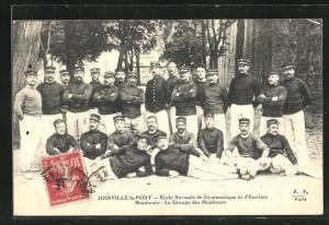 AK Joinville-le-Pont, Ecole Normale de Gymnastique et d`Escrime Moniteurs, Le Groupe des Moniteurs