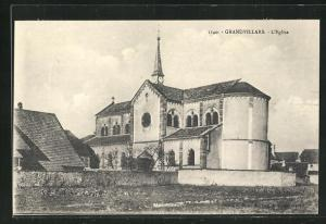 AK Grandvillars, L`Eglise