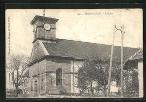 AK Bessoncourt, L`Eglise, Eckfassade