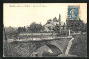 AK Cormeilles-en-Parisis, Le Pont des Alluets