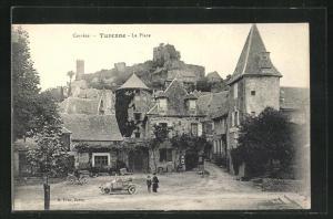 AK Turenne, La Place, Burgruine