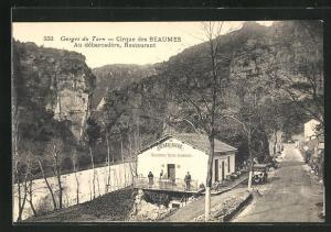 AK Gorges du Tarn, Cirque des Beaumes, Restaurant