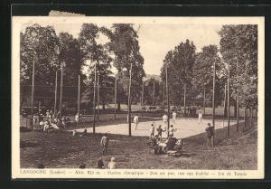 AK Langogne, Station climatique, Jeu de Tennis