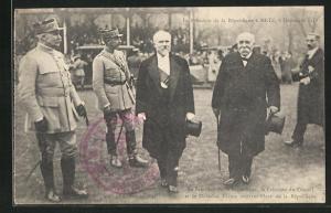 AK Metz, Le President de la Republique 1918